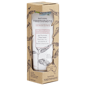 The Natural Family Co Sensitive Natural Toothpaste