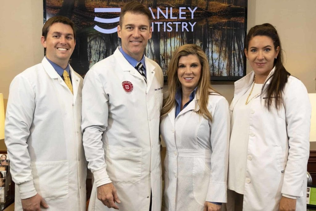The team of dentists at Stanley Dentistry in Cary, North Carolina