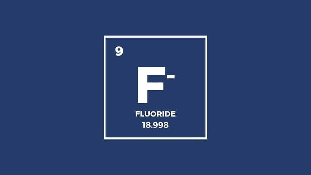 Fluoride information from the Periodic table