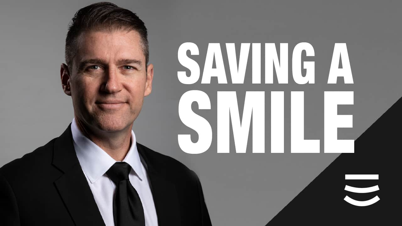 saving a smile - Stanley Dentistry in Cary, NC
